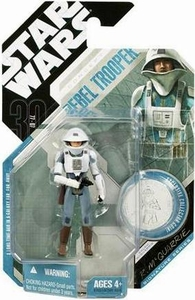 Star Wars 30th Anniversary Saga 2007 Action Figure Wave 9 #60 Rebel Soldier [McQuarrie Concept]