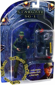 Diamond Select Toys Stargate SG-1 Series 2 Action Figure Lieutenant Colonel Samantha Carter