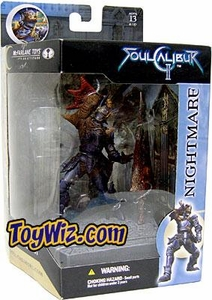McFarlane Toys Soul Calibur 2 Boxed Action Figure Nightmare