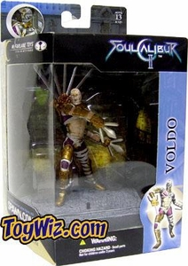 McFarlane Toys Soul Calibur 2 Boxed Action Figure Voldo