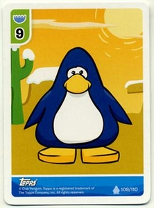 Topps Club Penguin Trading Card Game Single Card Naked Penguin [Random Color Penguin!] BLOWOUT SALE!
