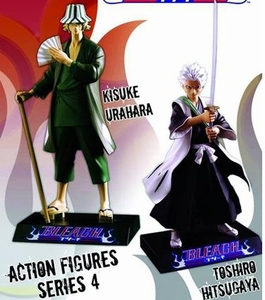Bleach Toynami Series 4 Set of Both Action Figures [Toshiro Hitsugaya & Kisuke Urahara] BLOWOUT SALE!