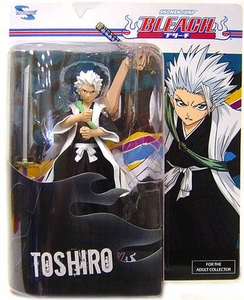 Bleach Toynami Series 4 Action Figure Toshiro Hitsugaya with Hyorinmaru