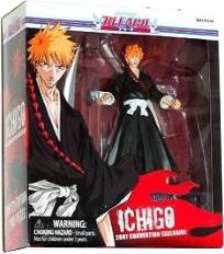 Bleach Toynami 2007 SDCC San Diego Comic-Con Exclusive Action Figure Ichigo Kurosaki