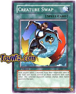 YuGiOh GX Fury from the Deep Single Card SD4-EN021 Creature Swap