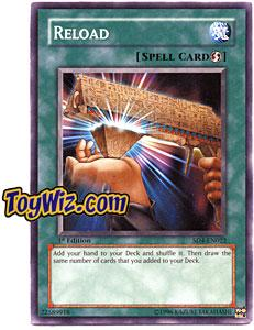 YuGiOh GX Fury from the Deep Single Card SD4-EN022 Reload