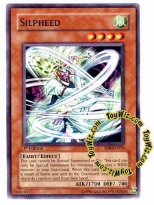 YuGiOh GX Lord of the Storm Single Card Common SD8-EN010 Silpheed