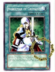 YuGiOh GX Lord of the Storm Single Card Common SD8-EN020 Nobleman of Crossout