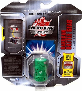 Bakugan Battle Gear Single Figure Zephyroz [Green] Vilantor Gear BLOWOUT SALE! Adds 90 G!