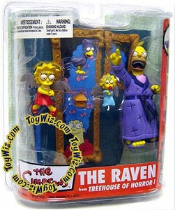 McFarlane Toys The Simpsons Series 2 Action Figure Treehouse of Horrors 1: The Raven