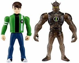 Ben 10 Alien Creation Chamber Mini Figure 2-Pack Ben & Alien X