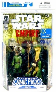 Star Wars 2009 Comic Book Exclusive Action Figure 2-Pack Dark Horse: Star Wars Empire #16 Janek Sunber & Amanin
