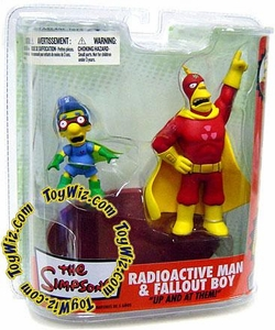 McFarlane Toys The Simpsons Series 2 Action Figure Radioactive Man & Fallout Boy
