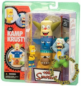 McFarlane Toys The Simpsons Series 1 Action Figure Kamp Krusty