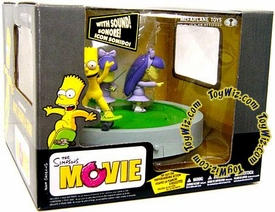 McFarlane Toys The Simpsons Action Figure Deluxe Boxed Set Bart, Sherri & Terri