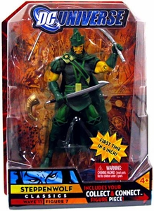 DC Universe Classics Series 11 Action Figure Steppenwolf {Green} [Build Kilowog Piece!]