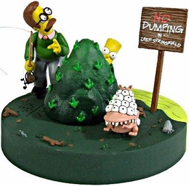 McFarlane Toys The Simpsons Action Figure Deluxe Boxed Set Bart & Ned Flanders