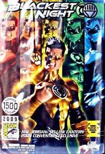 DC Direct Green Lantern Blackest Night 2009 SDCC San Diego Comic-Con Exclusive Action Figure Hal Jordan YELLOW Lantern Only 1,500 Made!