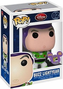 Disney Toy Story SDCC 2011 San Diego Comic-Con Exclusive POP! 9 Inch Vinyl Figure Buzz Lightyear Damaged Package, Mint Contents!