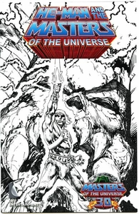 2012 SDCC San Diego Comic Con Exclusive Comic Book He-Man Masters of the Universe #1 Sketch Variant