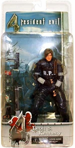 NECA Resident Evil 4 2006 SDCC San Diego Comic Con Exclusive Action Figure Leon S. Kennedy [RCPD]