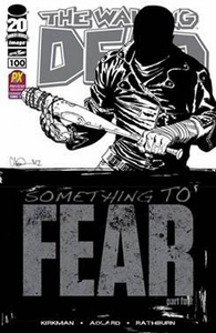 Walking Dead 2012 SDCC San Diego Comic Con Exclusive Comic Book Walking Dead #100 Something to Fear