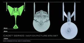Star Trek Cadet Series 1/2500 Scale Set of 3 Model Kits [U.S.S. Reliant, Ktinga & U.S.S. Enterprise (Refit)] Pre-Order