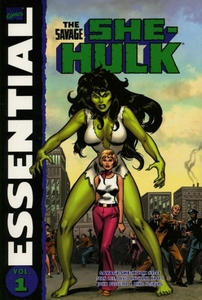 Marvel Comic Books She-Hulk Essential Savage She-Hulk Vol. 1 Trade Paperback