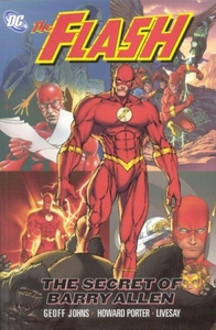 DC Comic Books The Flash The Secret Life of Barry Allen Trade Paperback