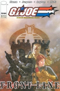 Comic Books GI Joe Frontline #1