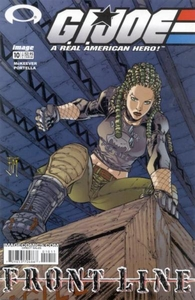 Comic Books GI Joe Frontline #10