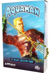 DC Direct 13 Inch Deluxe Collectors Action Figure Aquaman