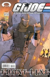 Comic Books GI Joe Frontline #17