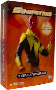 DC Direct 13 Inch Deluxe Collectors Action Figure Sinestro