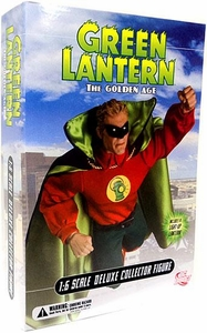 DC Direct 13 Inch Deluxe Collectors Action Figure Green Lantern [Golden Age]