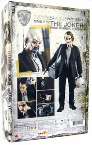 DC Direct Batman Dark Knight Movie Deluxe 1/6 Scale Collectors Action Figure Joker Bank Robber Version [Heath Ledger]