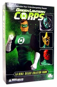 DC Direct 13 Inch Deluxe Collectors Action Figure Green Lantern Corps [Alternate Heads]