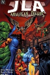 DC Comic Books JLA Vol. 2 American Dreams Trade Paperback