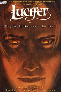 Vertigo Comic BooksLuciferVol. 8 The Wolf Beneath the TreeTrade Paperback
