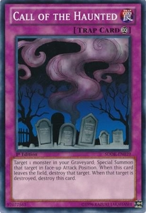 YuGiOh Structure Deck: Onslaught of the Fire Kings Single Card Common SDOK-EN039 Call of the Haunted