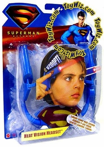 Superman Returns Movie Heat Vision Headset Headpiece