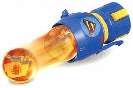Superman Returns Movie Ball Launcher Keyring Keychain BLOWOUT SALE!