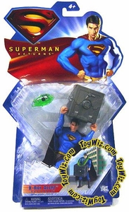 Superman Returns Movie Basic Action Figure X-Ray Alert Superman