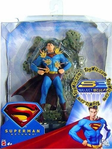 Superman Returns Movie Select Sculpt Figure Invulnerable Superman