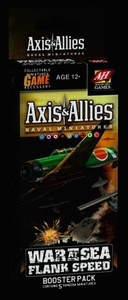 Axis & Allies Naval Miniatures Game War at Sea Flank Speed Booster Pack