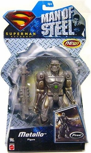 Superman Returns Movie Basic Action Figure Man of Steel Metallo