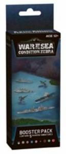 Axis & Allies Naval Miniatures Game War at Sea Condition Zebra Booster Pack