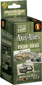 Axis & Allies Miniatures Game 1939-1945 Booster Pack