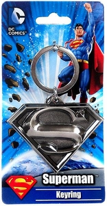 Monogram DC Comics Pewter Keychain Superman