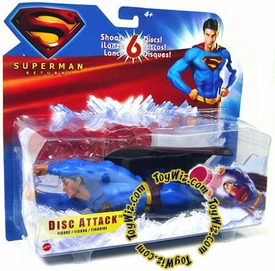 Superman Returns Movie Figure Disc Attack Superman